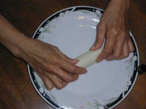 eggroll wrapping 6