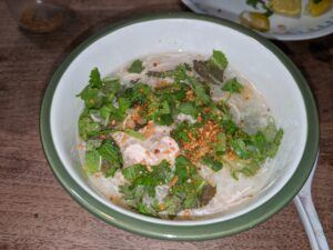 Chao Ga - rice porridge