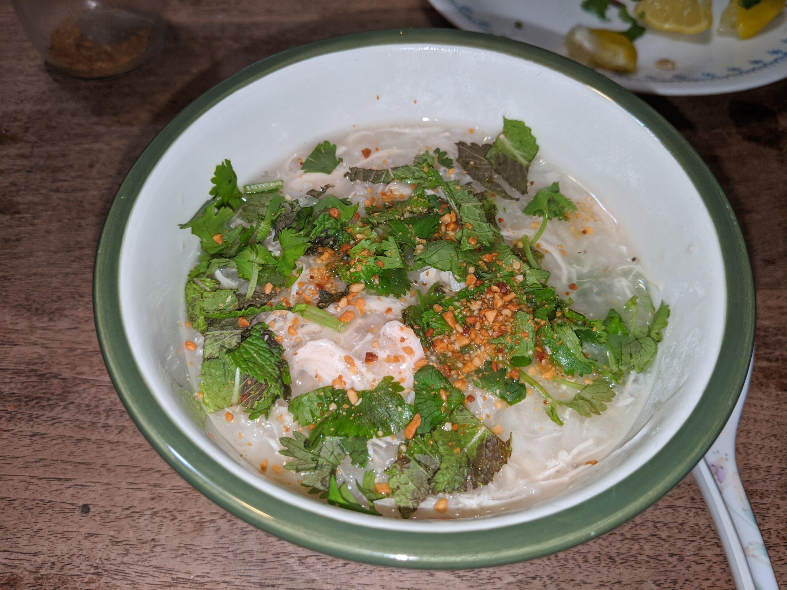 Chao Ga - rice porridge