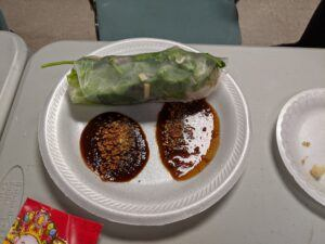 mouse spring roll