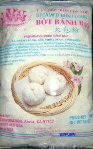 banh bao mixed flour